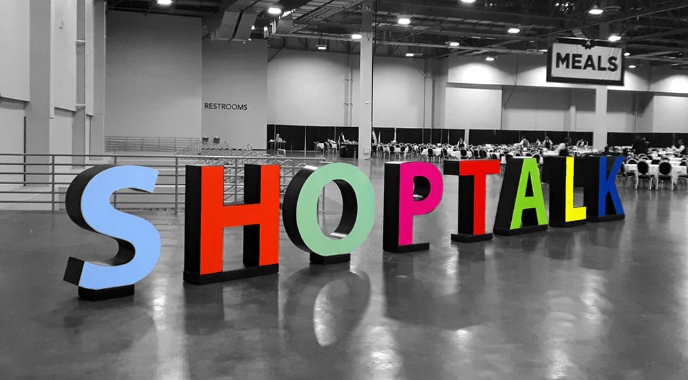 shoptalk 2019 black and white touch of color – SPS Commerce
