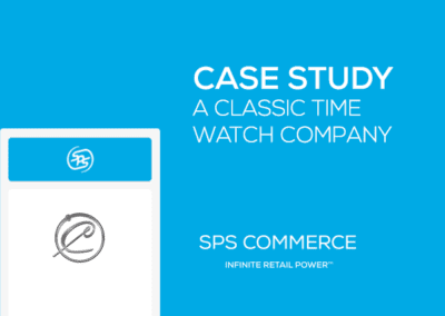 A Classic Time Watch Company Case Study